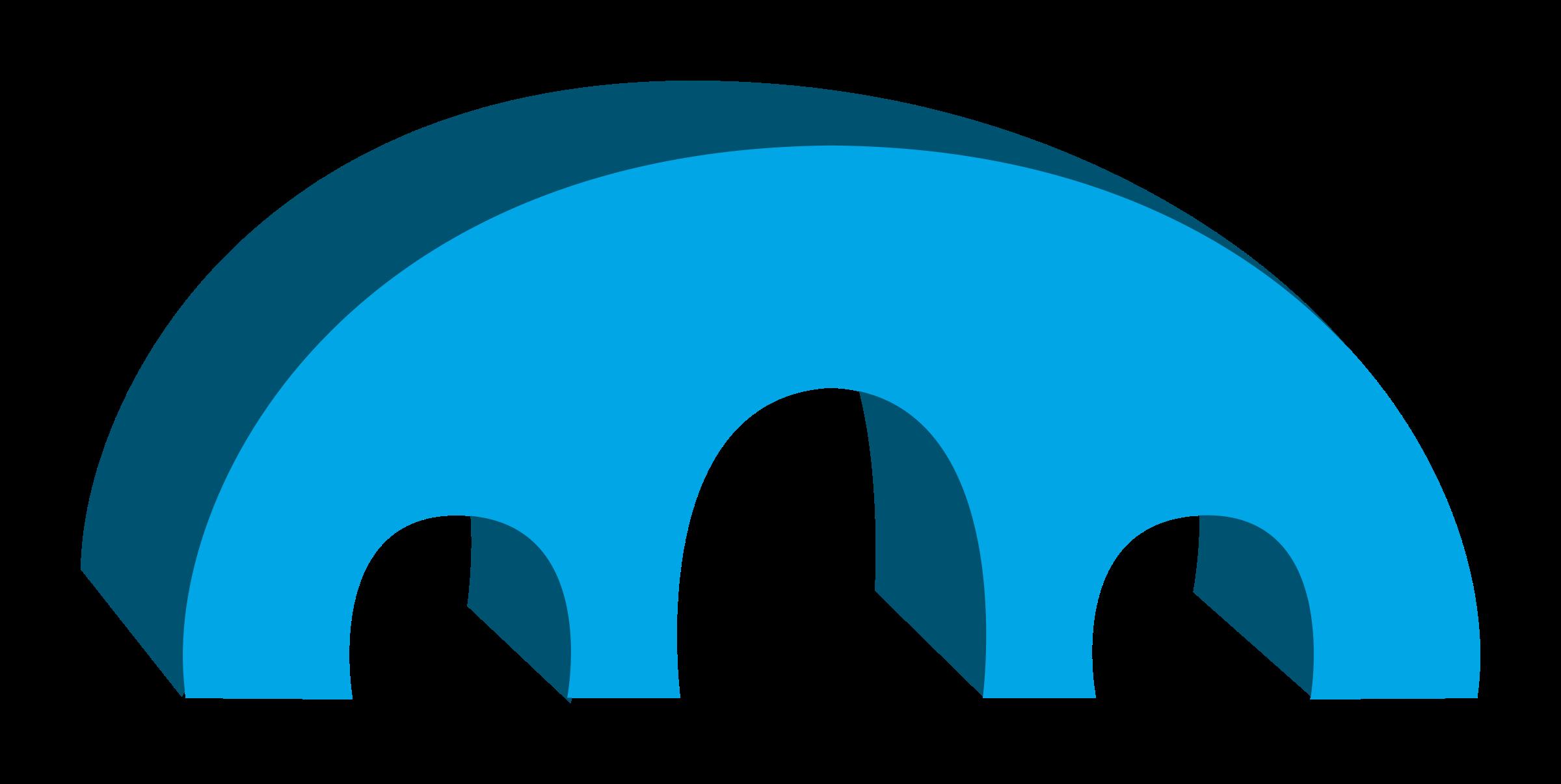 Logo clipart bridge. Simple d big image