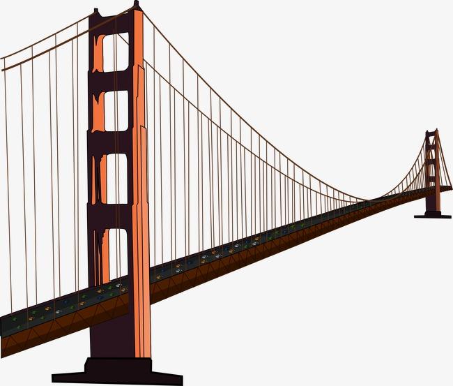 Chain deck png image. Bridge clipart steel bridge