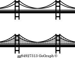 Vector stock arch steel. Bridge clipart structure