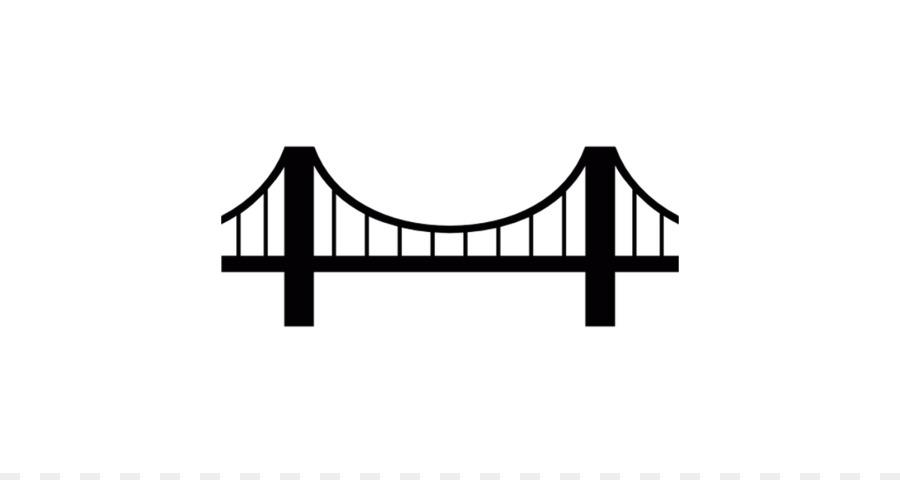 Golden gate simple clip. Bridge clipart suspension bridge