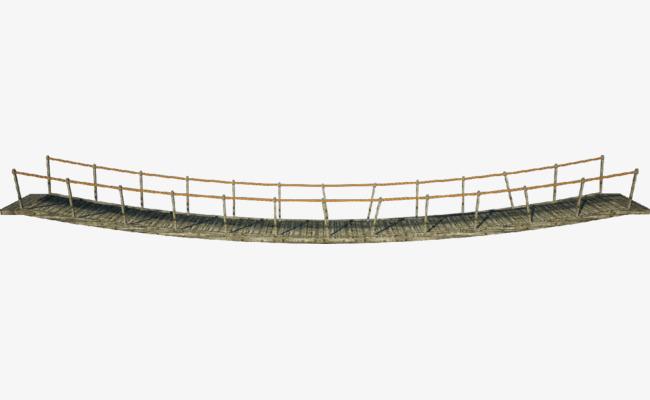 Bridge clipart suspension bridge. Ancient protection swinging png
