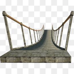 Bridge clipart suspension bridge. Png images vectors and