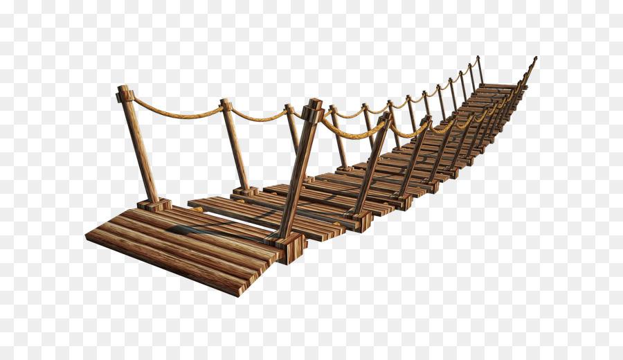 Bridge clipart suspension bridge. Clip art wooden plank