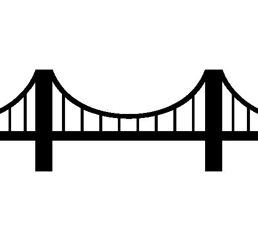 The top best blogs. Bridge clipart suspension bridge