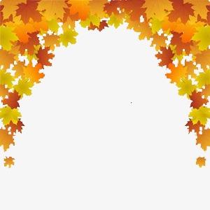 Bridge clipart tree. Arched leaves autumn png