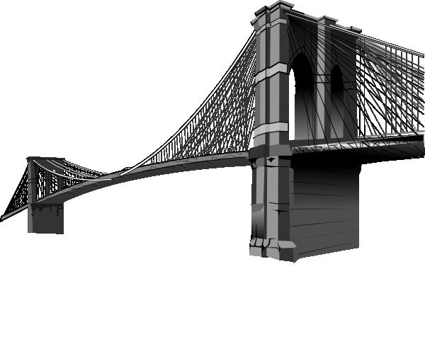 Bridge clipart vector. Brooklyn only clip art