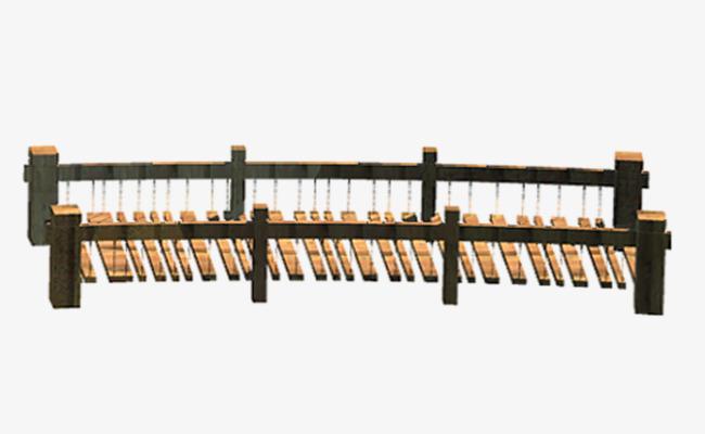 Bridge clipart wood bridge. Made of wooden png