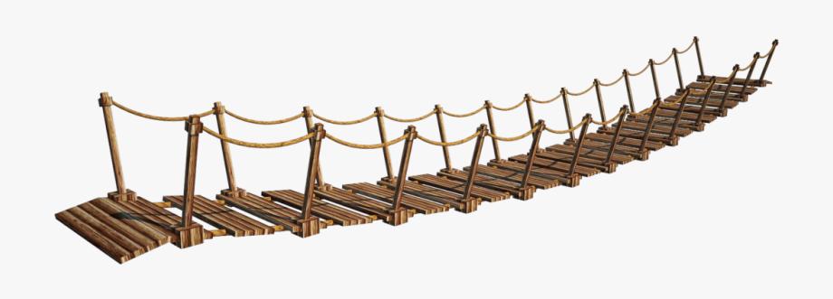 Png image wooden cliparts. Bridge clipart wood bridge