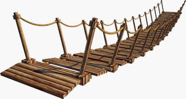 Bridge clipart wood bridge. Suspension png image and