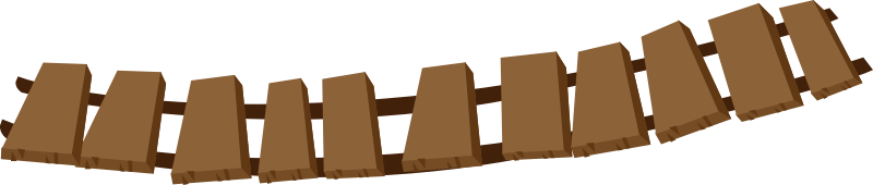 Cliparts zone. Bridge clipart wooden bridge