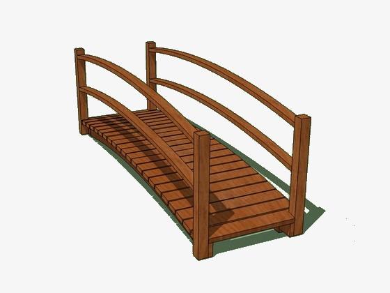 bridge clipart wooden bridge
