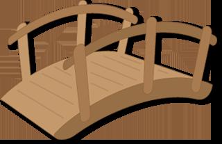 Free wood cliparts download. Bridge clipart wooden bridge