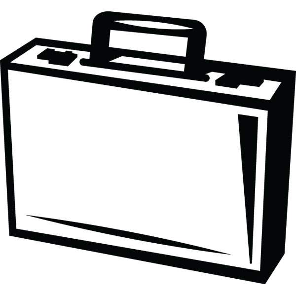 Briefcase clipart. Clip art for business