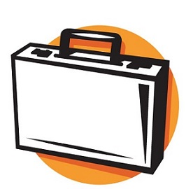 Free. Briefcase clipart