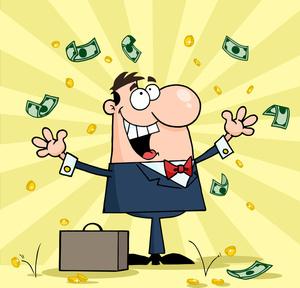 Businessman image clip art. Air clipart cartoon