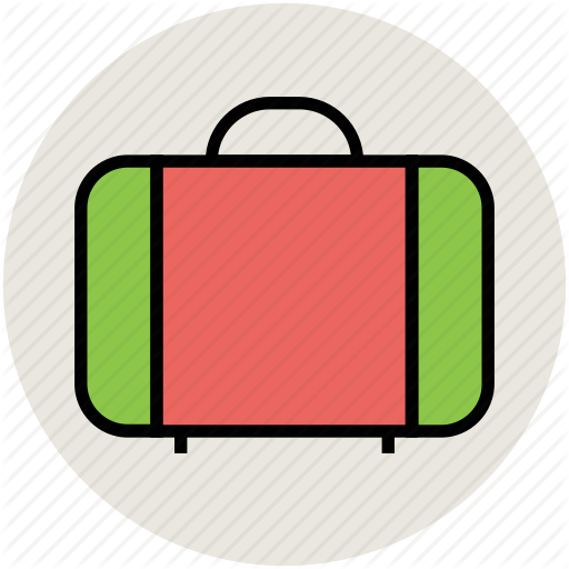 Bag luggage suitcase travel. Briefcase clipart attache case