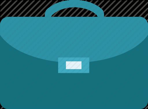 Bag business law icon. Briefcase clipart attache case