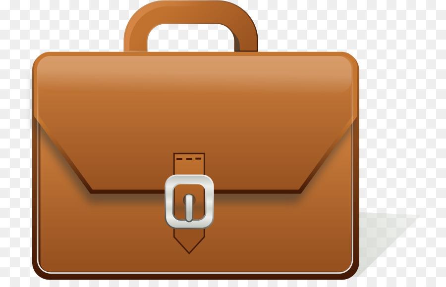 Clip art brown bag. Business clipart briefcase