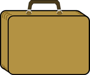 Clip art at clker. Briefcase clipart business