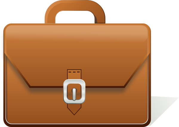 Free briefcase cliparts download. Luggage clipart business