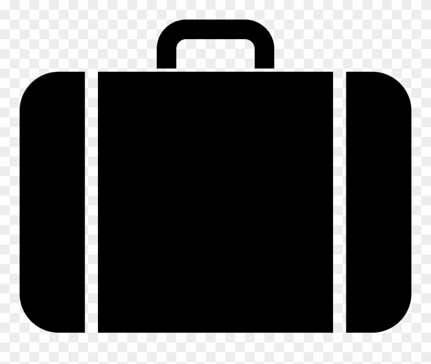 Luggage clipart business. Suitcase bag baggage briefcase
