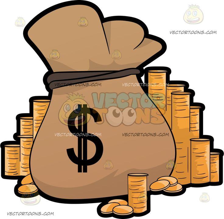Briefcase clipart cartoon.  best money clip