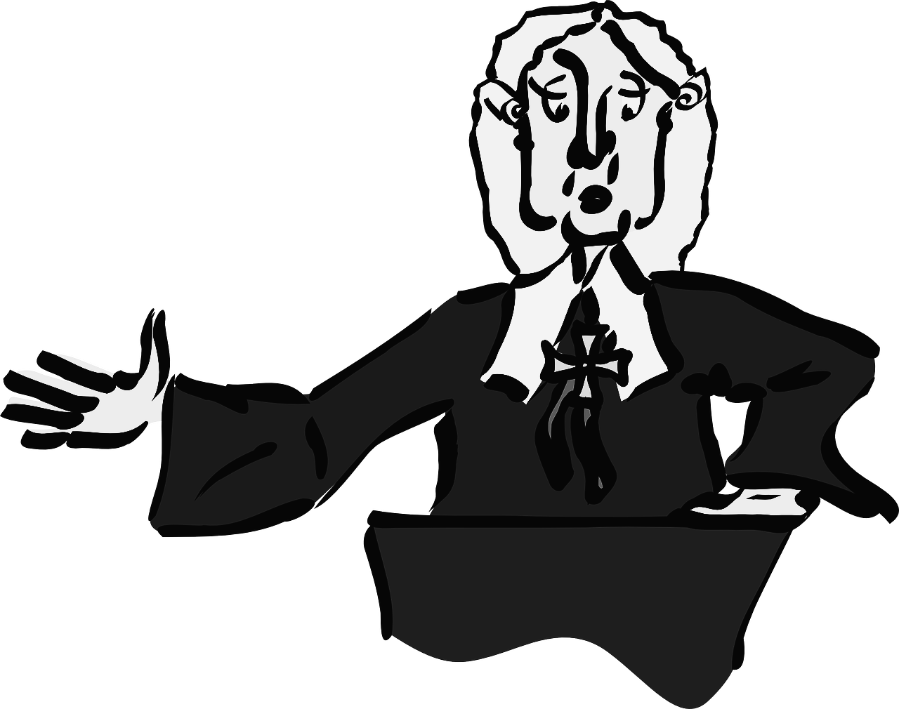 Evidence clipart judge jury. Your right to request
