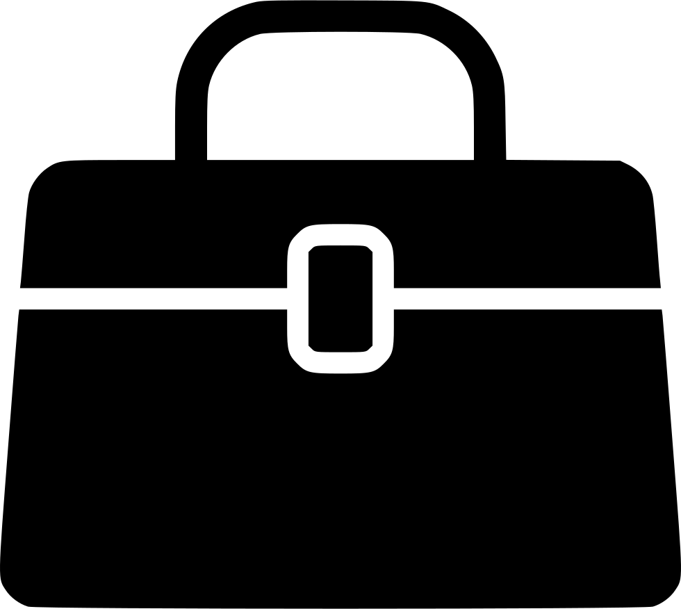 Luggage clipart office. Luxury bag svg png