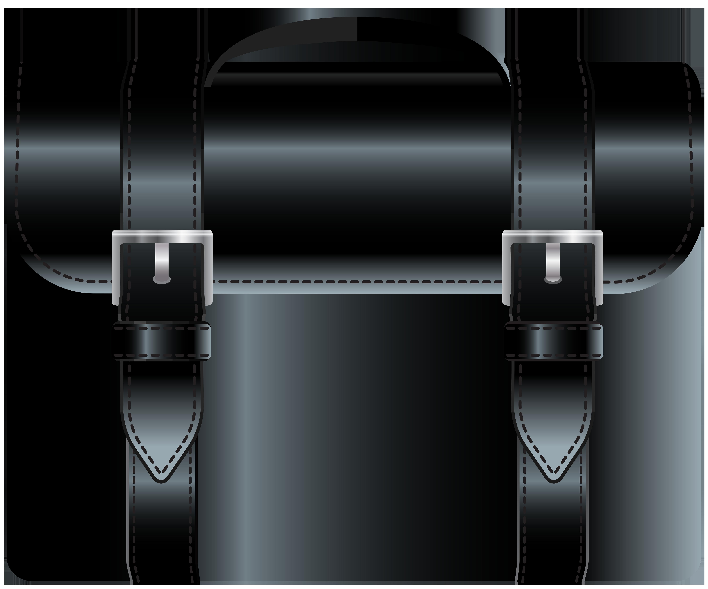 Black png clip art. Bag clipart leather bag