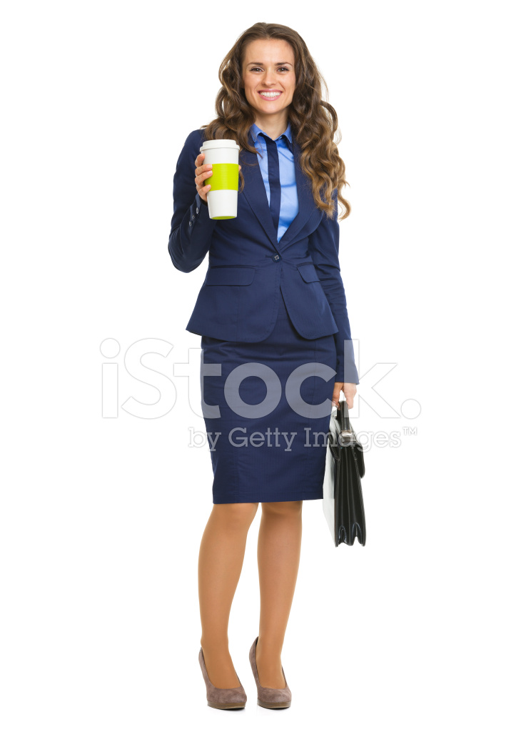 Briefcase clipart corporate woman. Smiling business with and