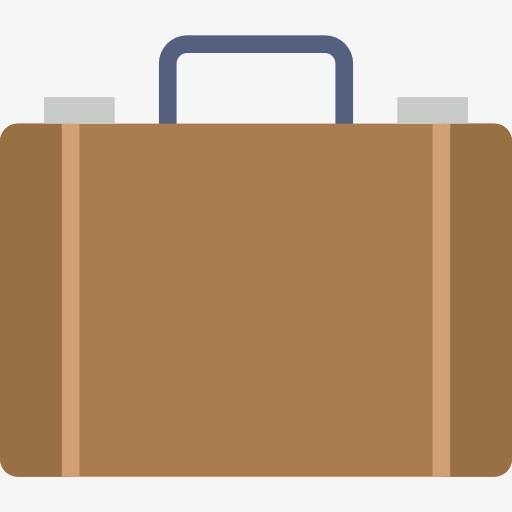 Briefcase clipart cute. Cartoon bags handbag png