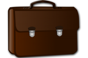 B download station page. Briefcase clipart cute