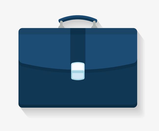 Briefcase clipart cute. Blue handbag png image