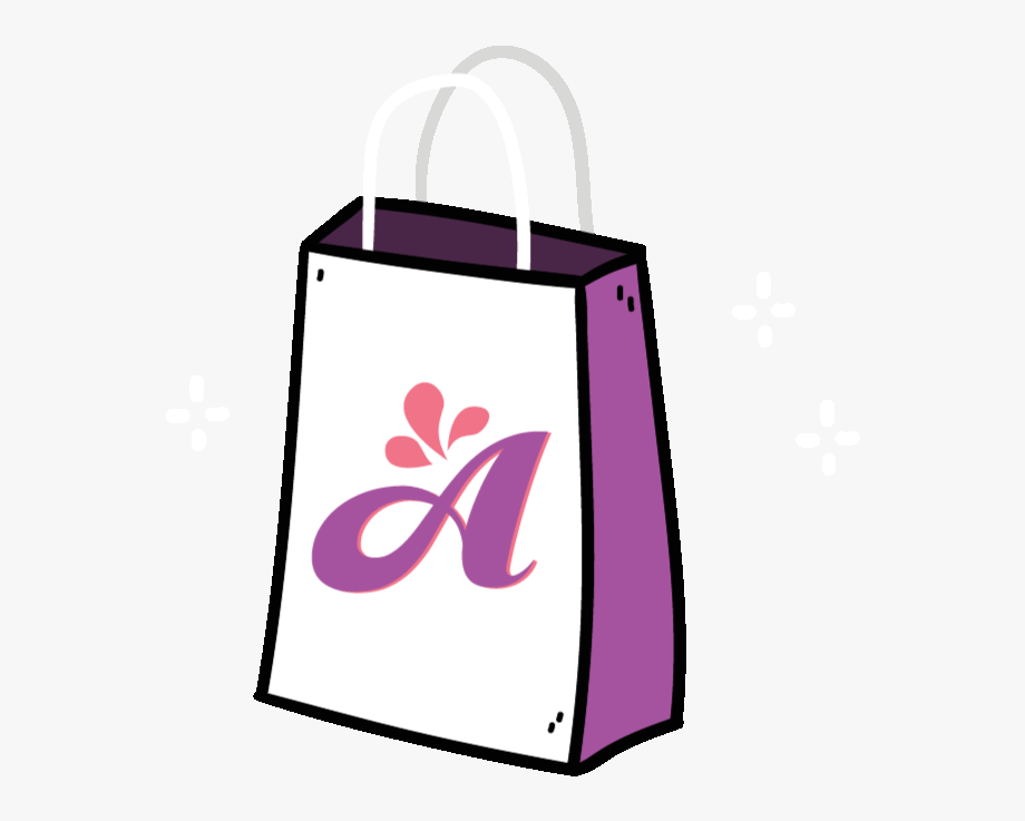 Briefcase clipart cute. Shopping bag animated gif