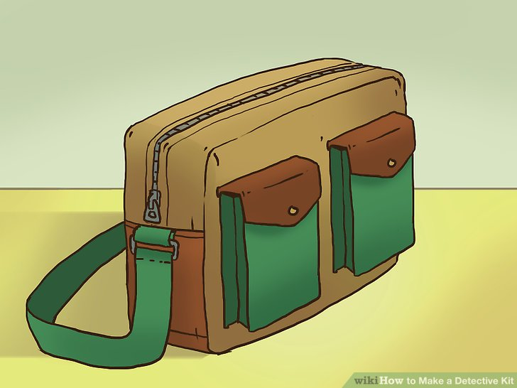 Briefcase clipart detective. How to make a