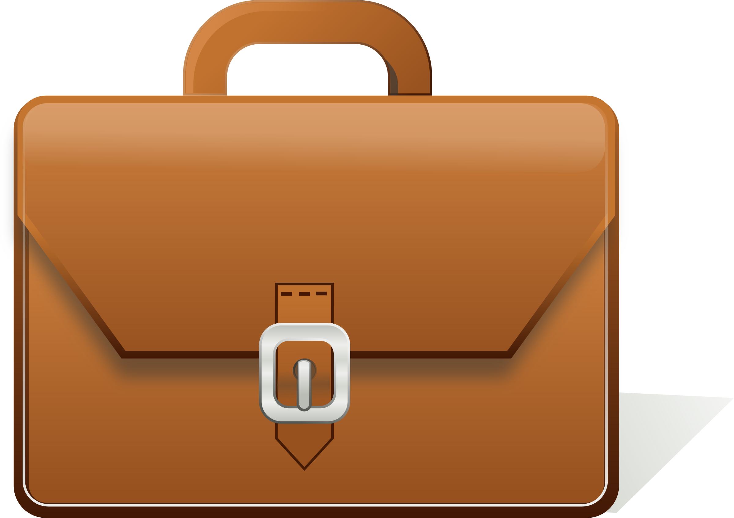 Briefcase. Luggage clipart work bag