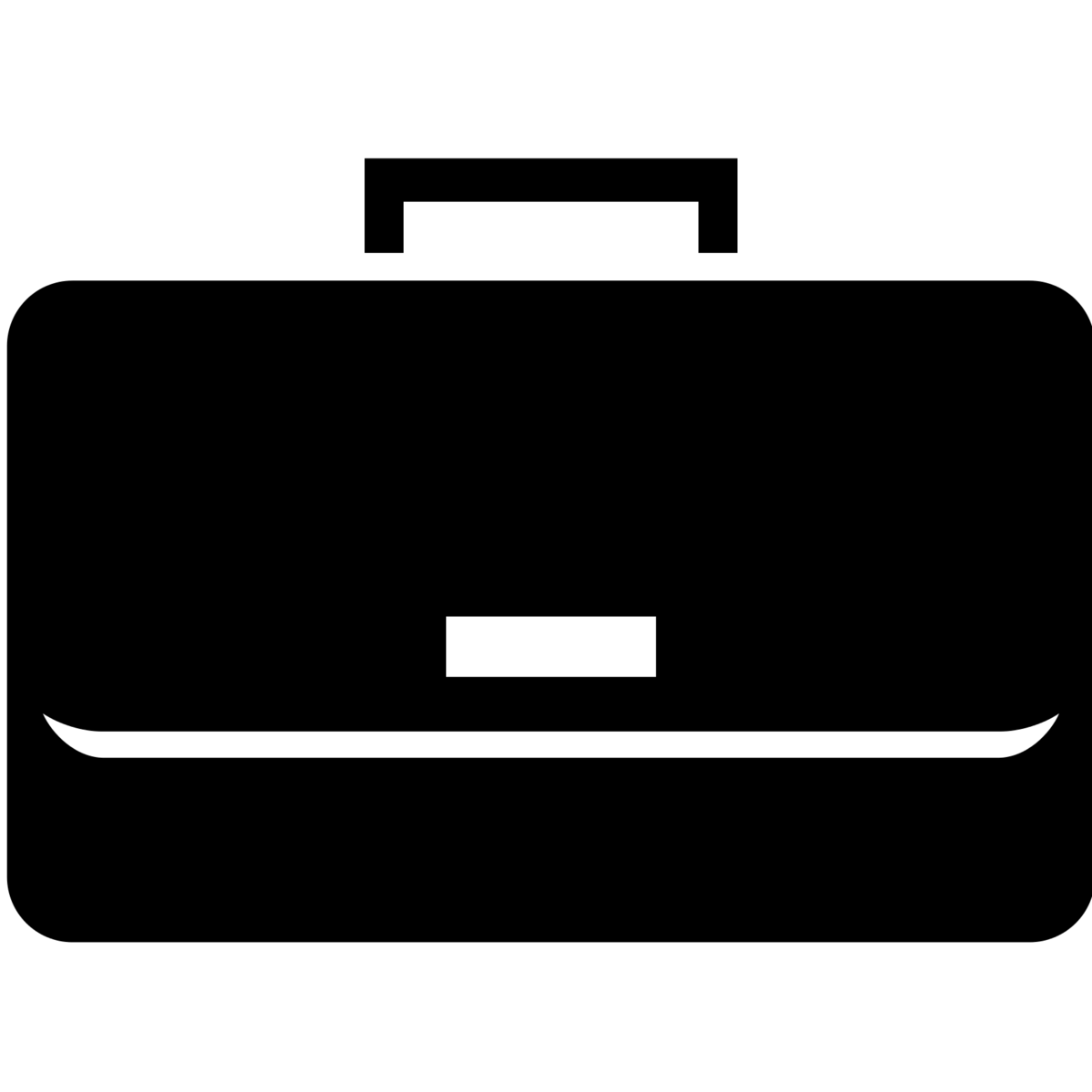 Suitcase coloring page free. Business clipart briefcase