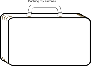 Luggage clipart empty suitcase. Images gallery for free