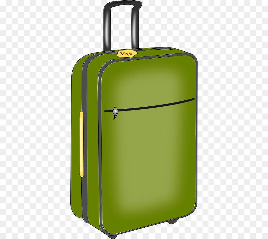 Briefcase clipart hand luggage. Suitcase baggage travel clip