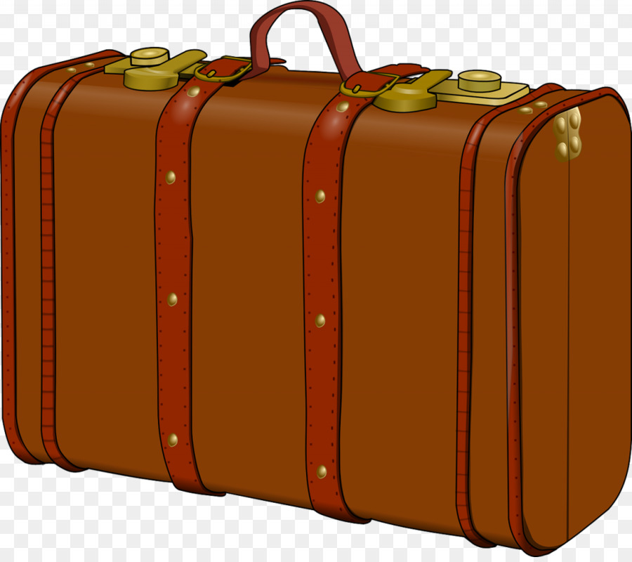 Briefcase clipart hand luggage. Suitcase baggage clip art