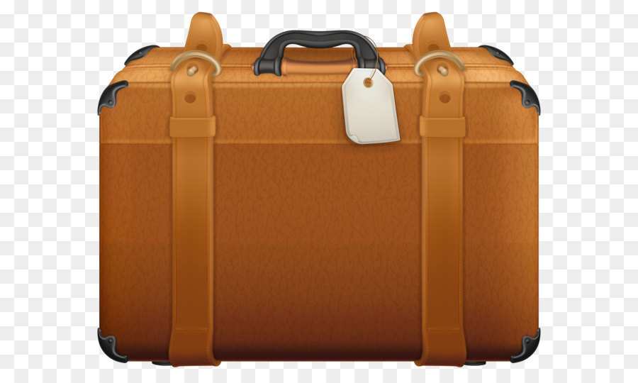 Suitcase clip art brown. Briefcase clipart hand luggage