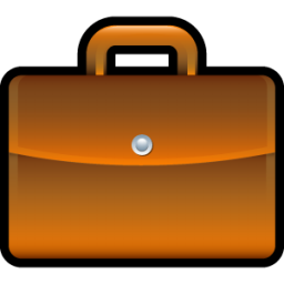 Briefcase clipart lawyer briefcase. Icon scrap iconset hopstarter