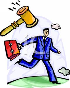 Briefcase clipart lawyer briefcase. A with gavel and