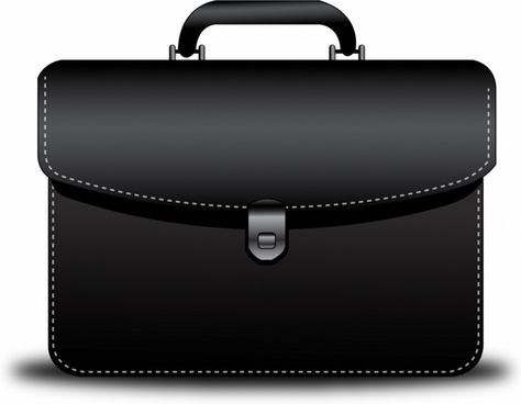 Briefcase clipart lawyer briefcase. Vector free download
