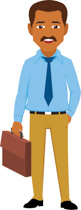 Briefcase clipart man. Search results for clip