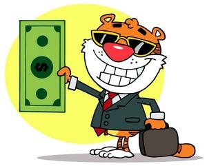 Briefcase clipart money. Image clip art of
