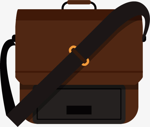 Briefcases men s bag. Briefcase clipart office