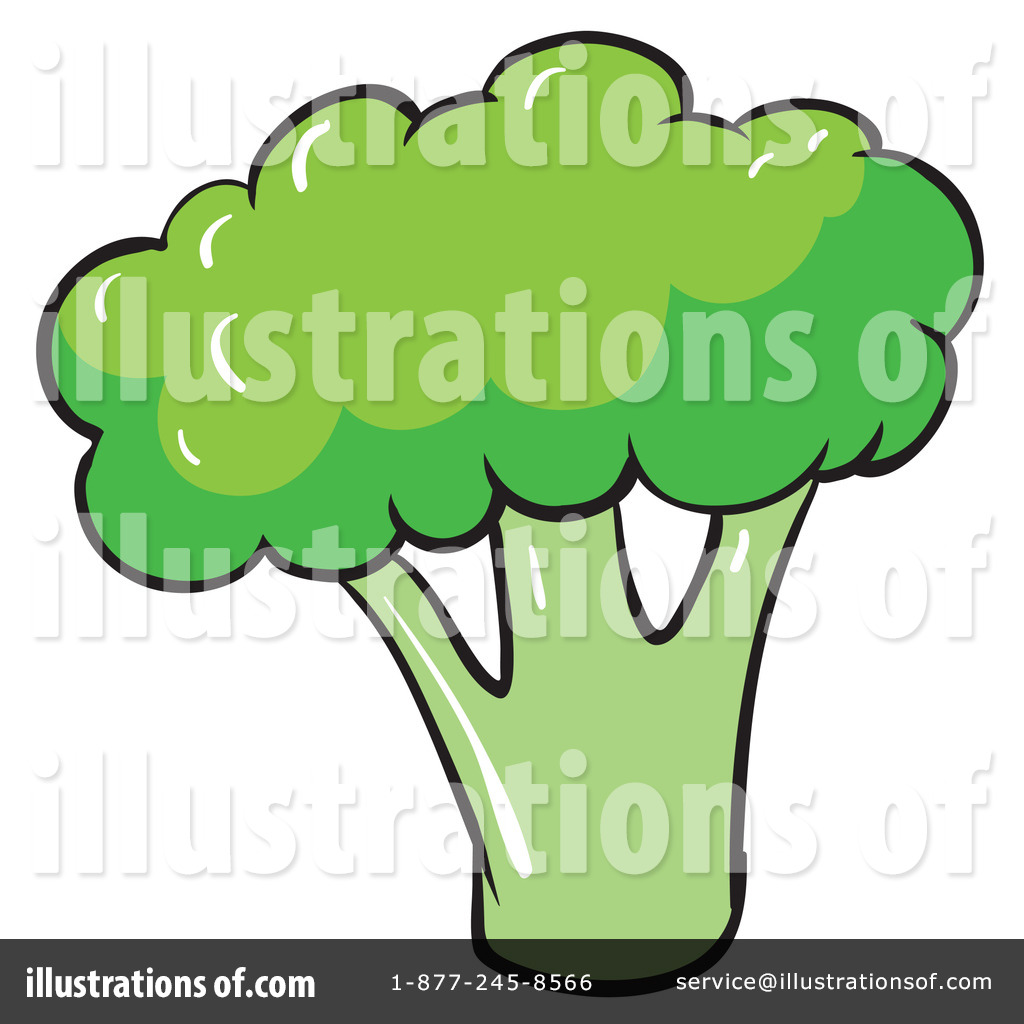 Illustration by graphics rf. Broccoli clipart