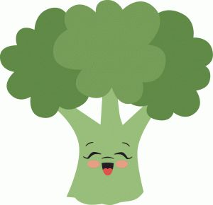 Broccoli clipart animated.  best fruit vegetables