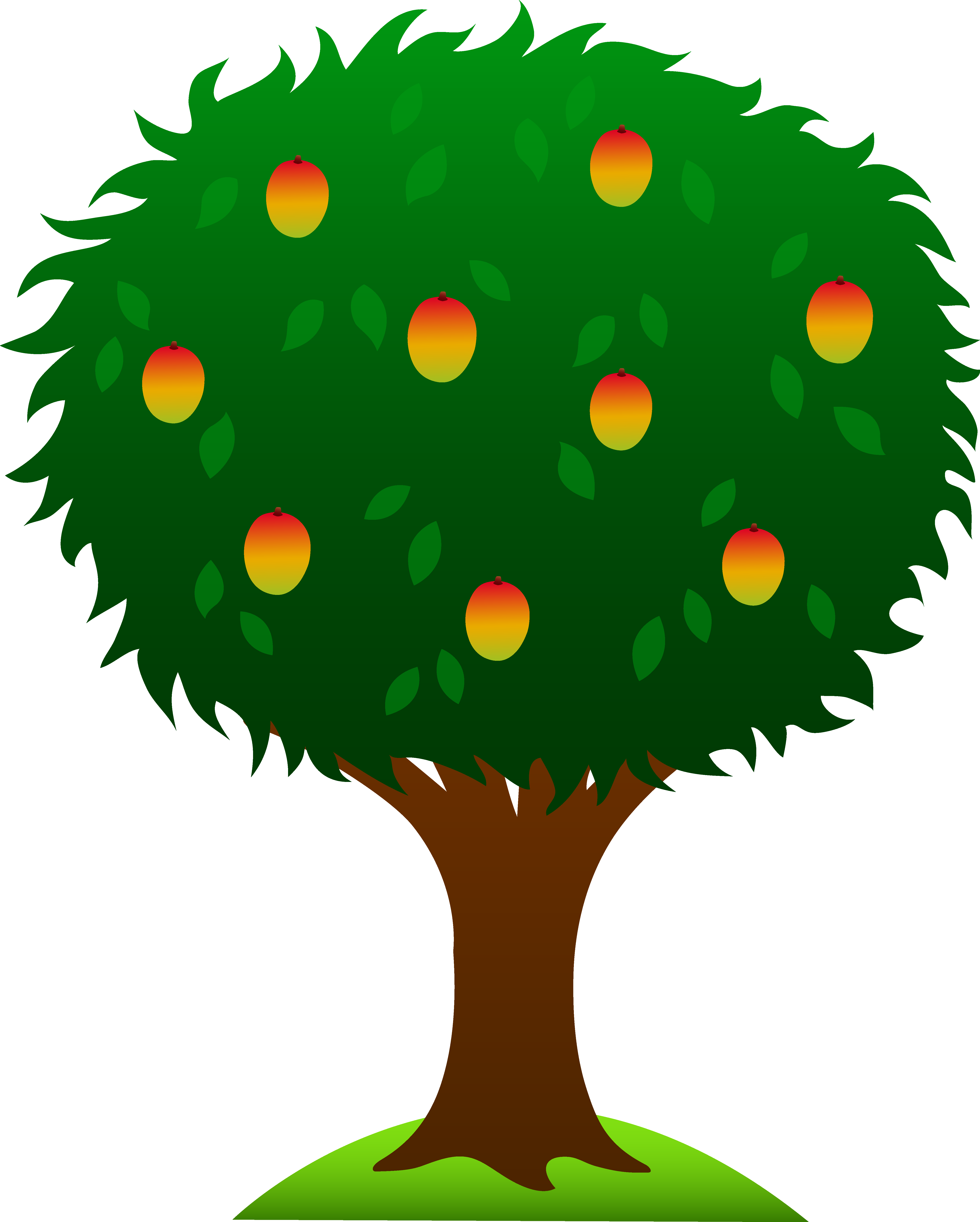 Clipart leaves mango tree. Free cartoon cliparts download